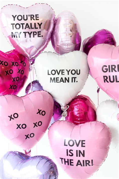 big valentines day balloons diy valentine s day balloon tattoos s day