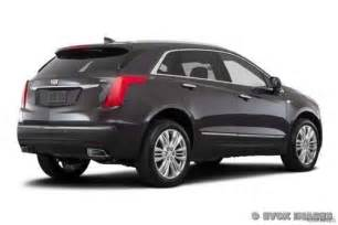 Cadillac Suv Price 2017 Cadillac Xt5 Suv Pricing For Sale Edmunds