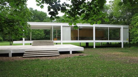 mies van der rohe farnsworth house plan farnsworth glass house hits hollywood