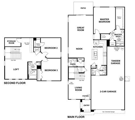 richmond american floor plans richmond homes floor plans