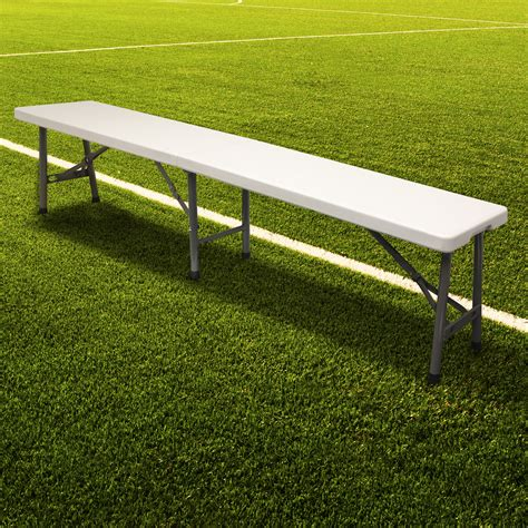 football team bench hartleys folding portable football bench sport subs