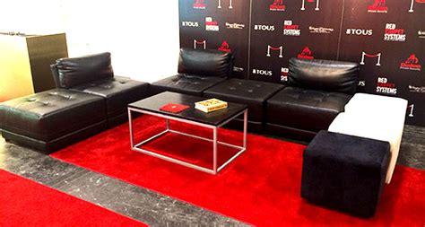 ottoman rental ottoman rental red carpet systems
