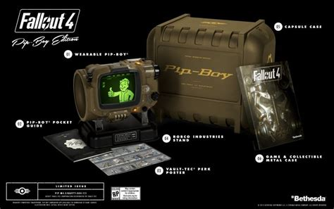 here s how much fallout 4 pip boy edition will cost you