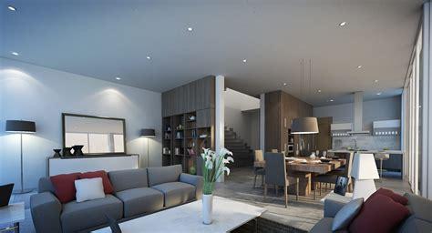 estancia sala comedor casa ai comedores minimalistas de taag arquitectura minimalista homify