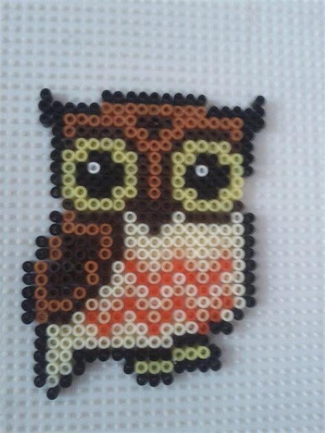 perler bead patterns owl owl hama by a mah on deviantart perler bead