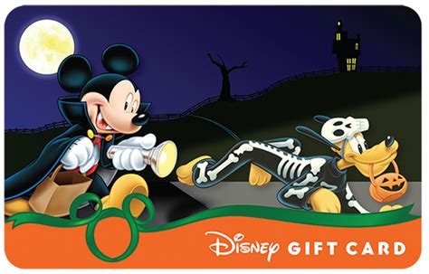 New World Gift Card - halloween disney gift cards have new designs and a glowing surprise wdw parkhoppers