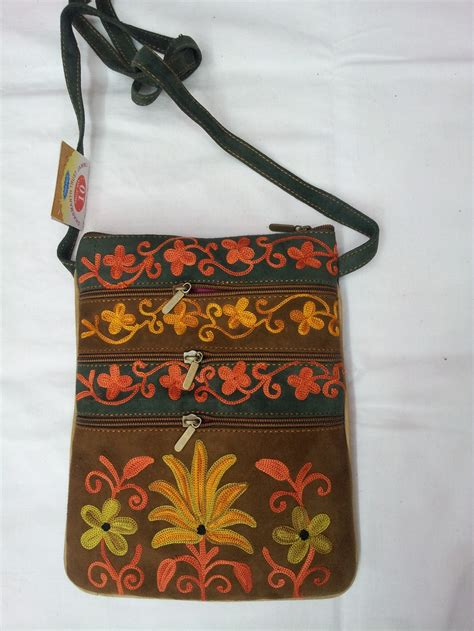 embroidery sling bag decor accessories