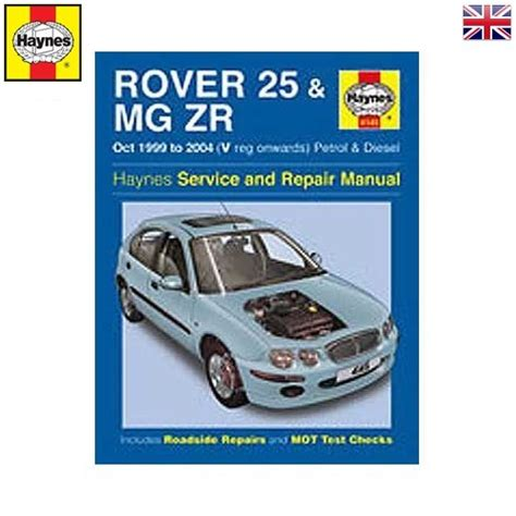 Rover 25 Mg Zr Repair Manual Automobile Library Mecatechnic