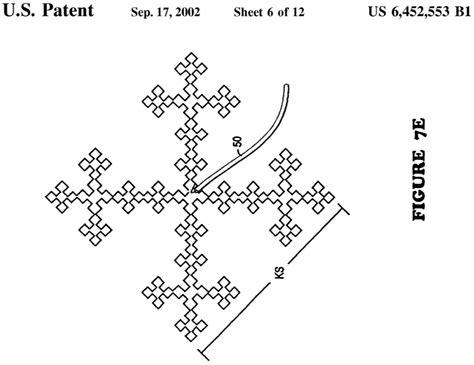 fractal tv antenna template fractal antenna