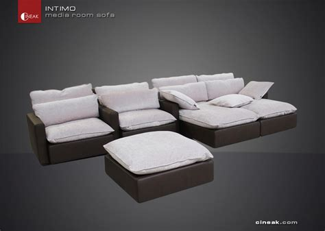 movie room sofa luxury media room sofas modern sofas other by