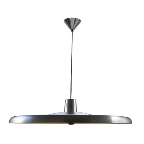 Aluminium Ceiling Lights 700 Pendant Light Brushed Aluminium And 700mm Diameter Base