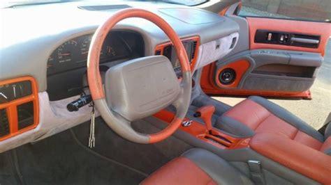 96 impala ss custom interior custom burnt orange 96 impala ss