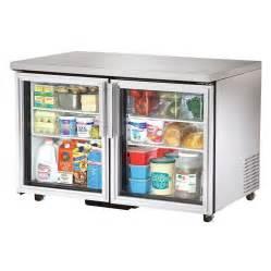 Undercounter Refrigerator Glass Door True Tuc 48g Ada 48 Quot Glass Door Ada Compliant Undercounter Refrigerator