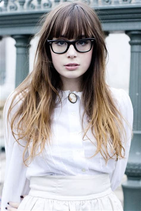 oh the lovely things obsession ombre hair with diy