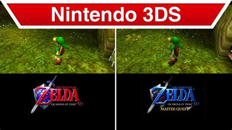 Kaset 3ds The Legend Of Ocarina Of Time 3d nintendo 3ds the legend of ocarina of time 3d master quest trailer