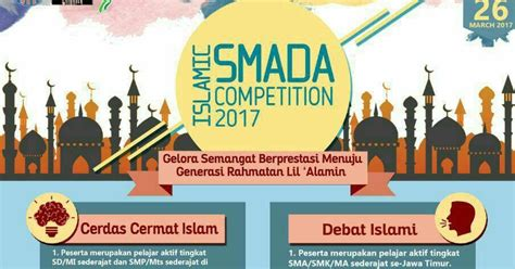 Mba Competitions 2017 by Islamic Smada Competition 2017 Tersedia Lomba Karya Tulis