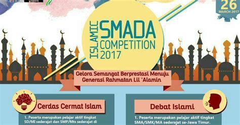 2017 Mba Compeititons by Islamic Smada Competition 2017 Tersedia Lomba Karya Tulis
