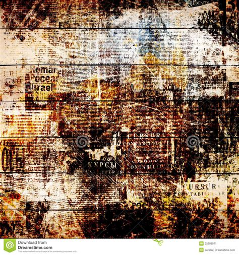 abstract newspaper wallpaper grunge abstract newspaper background for design stock