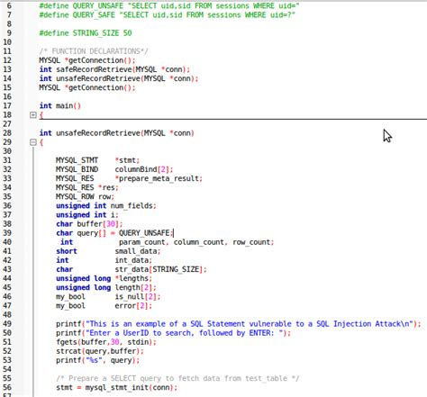 code section 412 sql injection the equal opportunity vulnerability