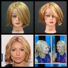 how does kelly ripa get those scrunchy waves in her hair kelly ripa new bob final 2014 hair cut pinterest