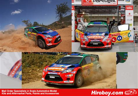 Lu Mobil Ford 1 24 Ford Wrc Quot Vodafone Ludo Mobil Quot Portugal