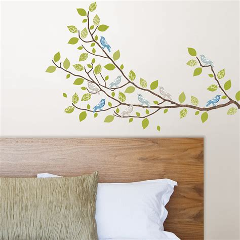 stick on wall sitting in a tree large peel stick wall decals