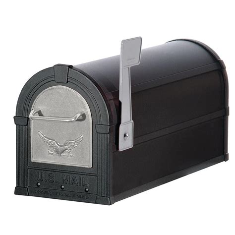 plastic post mount mailboxes residential mailboxes