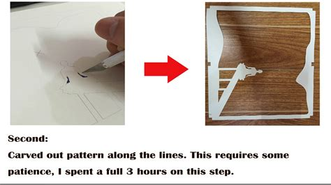 paper cut light box template how to make papercut light boxes youtube