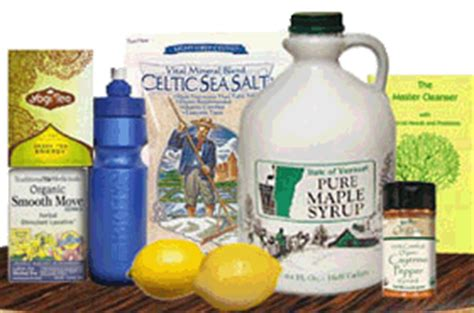 Detox With Grade A Maple Syrup by The Lemonade Diet And Grade B Maple Syrup