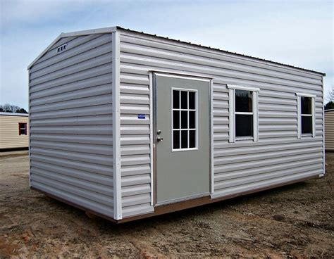 12 X 20 Metal Shed by 12 Ft X 20 Ft Metal Storage Building Buildings