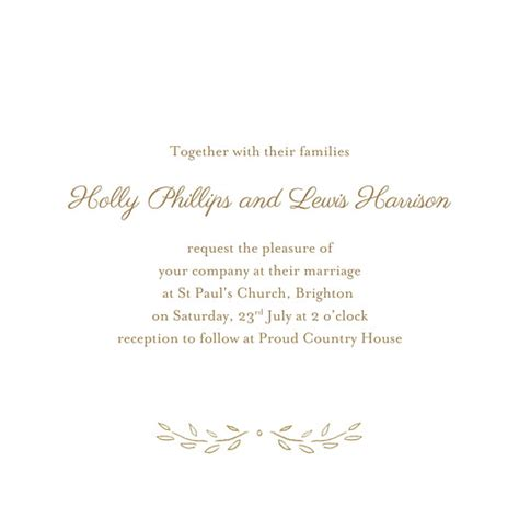 wedding invitations poems wedding invitations poem 4 pages atelier rosemood