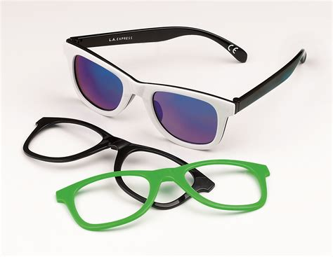 new snap front sunglasses change your look in an instant