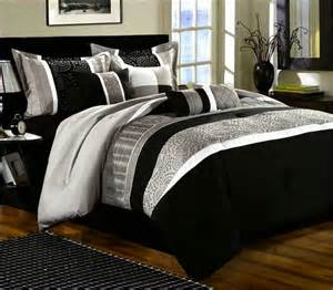Comforter Sets Black And White Black Grey And White Comforter Sets Home Design