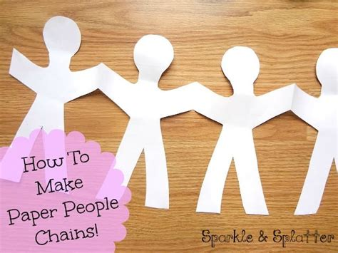 How Do You Make A Paper Chain - best 25 paper ideas on paper products