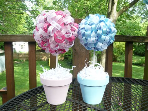Baby Shower Topiary Centerpieces - baby shower centerpieces and decorations simple baby shower centerpieces ideas comforthouse pro