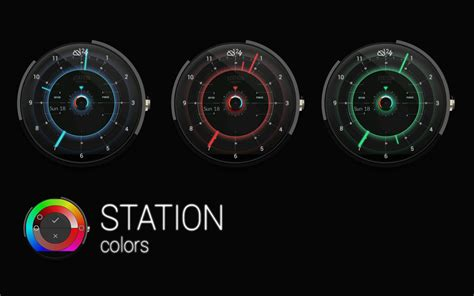 STATION   Watch face   Android Apps on Google Play