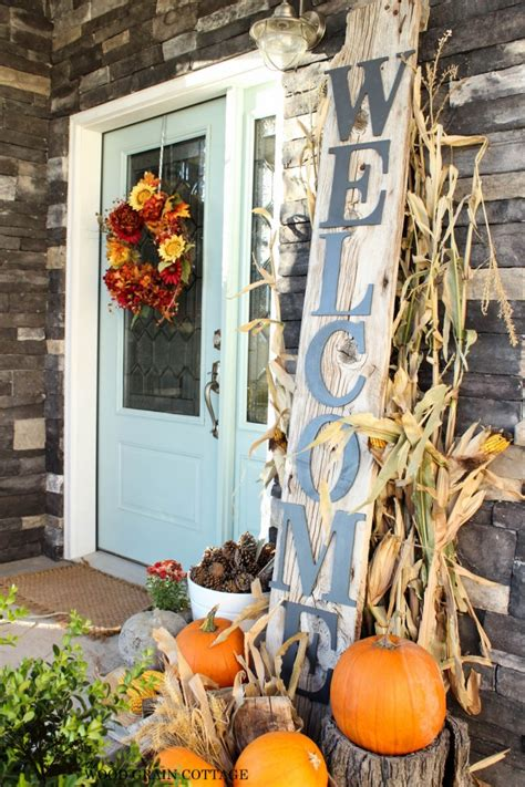 decorate front porch for fall 27 best fall porch decorating ideas and designs for 2016