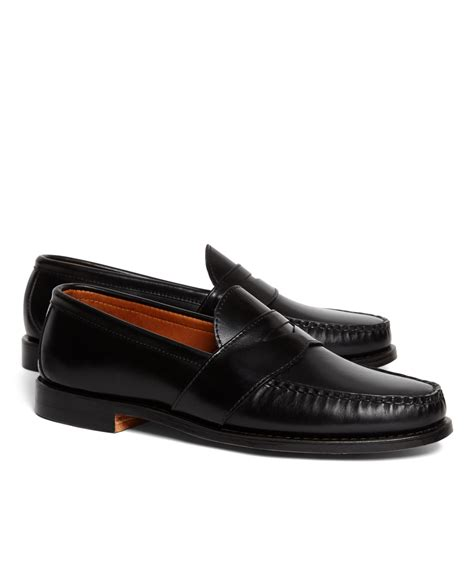 rancourt loafer brothers rancourt co leather sole loafers in