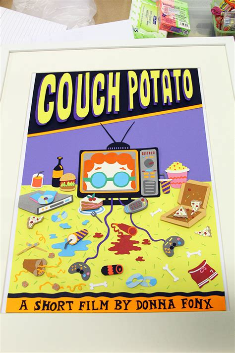 couch potato movies couch potato 3d movie poster on student show