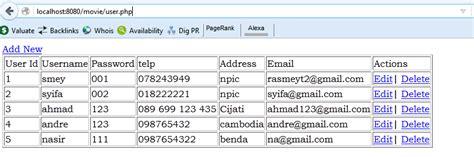 cara membuat json php cara membuat koneksi json php database ke android mari