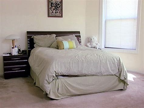 ideas for rearranging your bedroom a little rearranging takes this bedroom from ick to