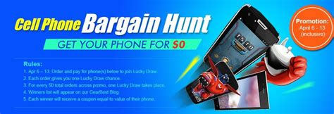 Free Smartphones Giveaway 2015 - get free smartphone from gearbest giveaway