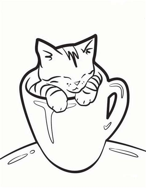 coloring pages with cats cat coloring pages printable jpg 1000 215 1293 colouring