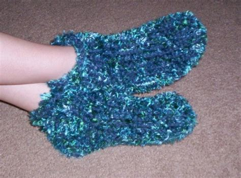 loom knitting slippers chunky slipper socks loom knitting pattern