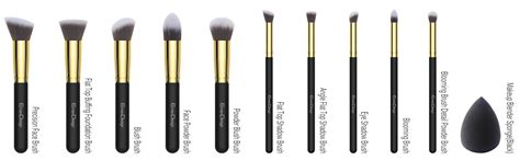 Foundation Make Up Brush emaxdesign makeup brushes 10 1 pieces makeup