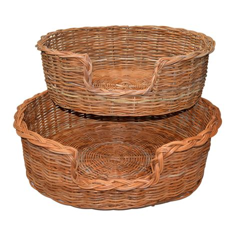 set of puppy set of 2 baskets roudham trading