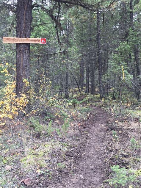 blue bench trails squiggly bench mountain bike trail xats ull soda creek