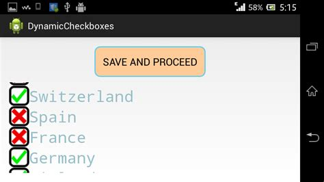 android landscape layout tutorial android tutorials creating dynamic checkbox in android