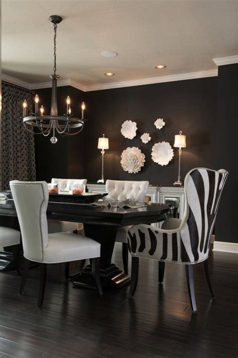 zebra print dining room chairs 5 interior design ideas with animals decor messagenote