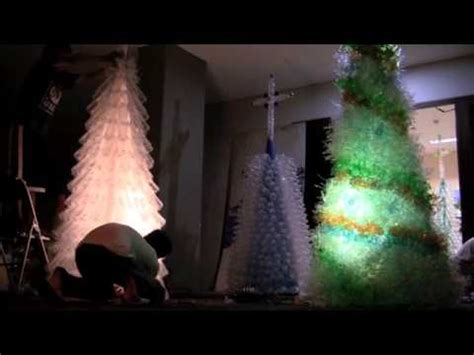 cara membuat pohon natal dari aqua botol cara membuat pohon natal dari botol aqua bekas 3gp mp4 hd
